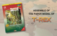 Assemble of the paper Model of T-Rex